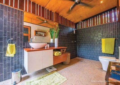 Tropical Designed Bathroom
