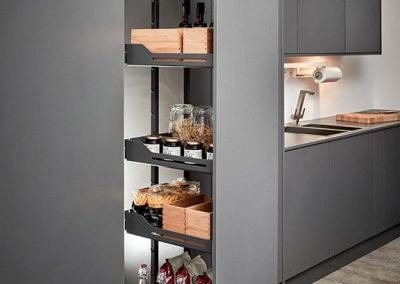 Cabinet Pull-out Kitchen Pantry for Condiments