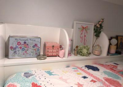 Bedside Bunk Shelf Storage